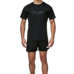 t-shirt_stripe_black_shorts_mino_black_front_1